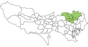 東京都対応エリアマップ